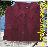 Poloshirt - T-Shirt - Stretch - 95% Cotton - bordeaux Gr. XL